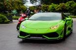 """Siêu xe Lamborghini Huracan xanh cốm của đại gia kín tiếng Sài thành độ """"khủng"""""""