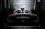 """Hình ảnh nhìn từ phía sau của siêu xe Mercedes-AMG Project One """"gây sốt"""""""