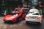 """""""Bò già"""" Lamborghini Murcielago đầu tiên tại Việt Nam lại """"dở chứng"""" trên phố"""