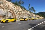 """Sau Đà Nẵng, hàng chục siêu xe và xe thể thao """"tông xuyệt tông"""" màu vàng di chuyển về Nha Trang"""