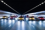 157 chiếc Ferrari diễu hành trên các con phố tại Singapore gây nên cảnh tắc đường