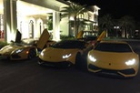 """Cận cảnh bộ 3 siêu xe Lamborghini biển """"khủng"""" tham gia hành trình """"phượt"""" 1.000 km"""