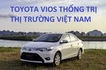 10 ô tô bán chạy nhất Việt Nam tháng 8: Toyota Vios thống trị, Fortuner lập kỷ lục