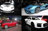 Top siêu xe mới ra mắt tại triển lãm xe danh giá Frankfurt 2017