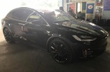 SUV điện Tesla Model X P100D độc nhất Việt Nam được cho đi đăng kiểm