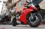 """[Video] Mục sở thị siêu mô tô Ducati Panigale V4 S giá ngang """"Mẹc"""" GLA của biker Hà Nội"""