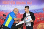 Suzuki Việt Nam tặng xe tay ga cho tiền vệ U23 Quang Hải
