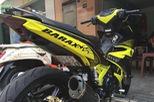 Xe máy gắn biển số đút gầm sẽ bị phạt tiền đến 2 triệu đồng
