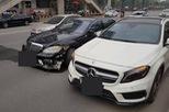 Hà Nội: Nghi vấn đua xe tốc độ cao, bộ ba Mercedes-Benz gặp nạn