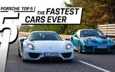 5 dòng xe nhanh nhất lịch sử Porsche