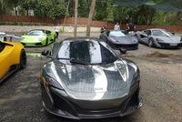 Xem hàng chục siêu xe của các đại gia Sài thành tụ tập trên phố vào cuối tuần