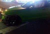 BMW 4-Series Coupe màu hiếm gặp nạn tại Sài thành