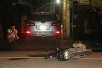 Nghệ An: Va chạm với xe bí thư huyện, 2 thanh niên nguy kịch