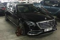 Hà Nội: Chủ xe sang Mercedes-Maybach đỗ xe sai và bị khóa bánh nhưng người bị chỉ trích nặng nề nhất lại là bảo vệ hầm tòa nhà