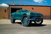 Chevrolet Camaro đi kèm la zăng 32 inch liệu có hợp?