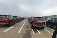 Cả ngàn chiếc Ford Ranger và Everest bản nâng cấp mới cập cảng Việt Nam