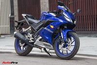 Đấu xe chính hãng, Yamaha R15 nhập khẩu ngoài giảm giá còn 84 triệu đồng