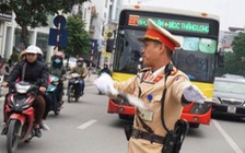 Cảnh sát giao thông chỉ được dừng xe trong 5 trường hợp