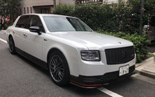 Xác nhận có Toyota Century bản thể thao và chính chủ tịch Toyota đang sử dụng mẫu xe này