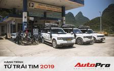 Ông Đặng Lê Nguyên Vũ tốn bao nhiêu tiền xăng cho dàn xe Range Rover trong hành trình xuyên Việt 2019?