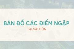 7 điểm ngập nặng nhất ở Sài Gòn khi có mưa lớn