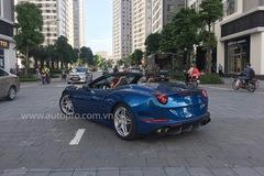 Hà Nội: Ferrari California T xanh nước biển bất ngờ tái xuất