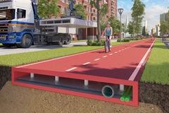 Đường nhựa tái chế - giải pháp cho giao thông