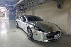 """Tay chơi Ninh Bình """"thay áo"""" mới cho Aston Martin Rapide S hết 15 triệu Đồng"""