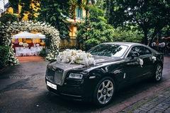 Hà Nội: Rolls-Royce Wraith hoá thân thành xe dâu