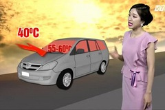 Tuyệt chiêu hạ nhiệt ô tô trong 30 giây ai cũng cần biết