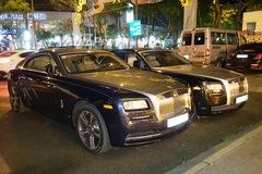 Rolls-Royce Wraith 19 tỷ Đồng của Phan Thành tái xuất trên phố