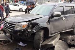 """Quảng Ninh: Ford Everest """"hạ gục"""" 3 xe máy, 3 người tử vong"""