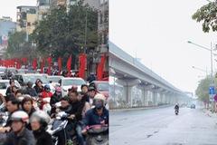 Giao thông Hà Nội thay đổi như chong chóng ngay trong ngày đầu năm Mậu Tuất