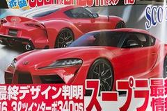 Toyota Supra - xe thể thao Nhật lai Đức lộ hình ảnh và những thông số mới