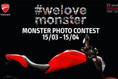 Ducati Việt Nam có những hoạt động gì để kỷ niệm 25 năm ra mắt dòng xe Monster?