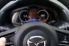 Lộ màn hình kỹ thuật số thay đồng hồ cơ trên xe Mazda thế hệ mới