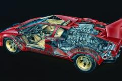 """Mổ xẻ"" siêu xe Lamborghini Countach"