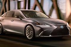 Lexus chính thức tung ảnh, video teaser ES 2019 ra mắt tuần tới