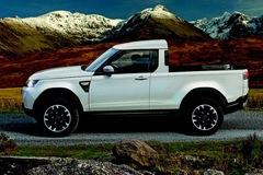 Land Rover công bố bán tải Defender cạnh tranh với Mercedes-Benz X-Class