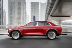Chính thức lộ diện Mercedes-Maybach mới tại Bắc Kinh: Nửa SUV nửa sedan?