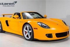Porsche Carrera GT vàng độc nhất vô nhị đòi giá hơn 1 triệu USD
