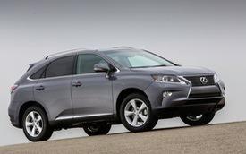 Xe sang Lexus RX mới giảm trọng lượng, tiết kiệm nhiên liệu hơn
