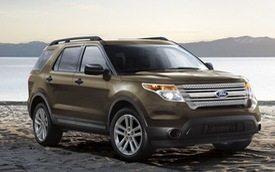 7 triệu chiếc Ford Explorer tìm thấy chủ trong 14 năm