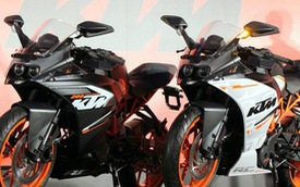 KTM RC390 và RC200 có giá siêu hấp dẫn