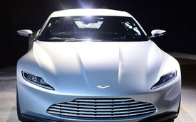 Aston Martin DB10 - Chiếc xe mới dành riêng cho James Bond