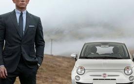 James Bond lái Fiat 500 trong phim mới, khán giả la ó