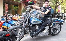 Dàn Harley-Davidson tụ họp mừng nữ biker Hà thành