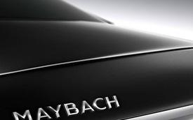 Hình ảnh chính thức đầu tiên của xe xa xỉ Mercedes-Maybach S600