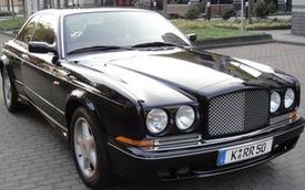 Xe sang Bentley hiếm từng thuộc về võ sỹ Mike Tyson có giá cao