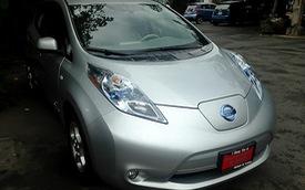 Nissan Leaf chạy điện đầu tiên đến Việt Nam